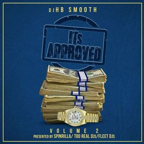 Its Approved Vol 2 DJ HB Smooth front cover
