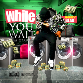 While You Wait Jiggy Blak front cover
