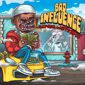 Bad Influence Q Da Fool front cover