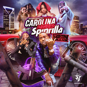 Carolina Invades Spinrilla DJ Ben Frank front cover