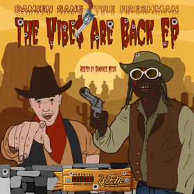 The Vibes Are Back EP Damien Sane & Tre Fre$hman front cover