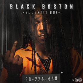 Blackk Boston BooGatti Boy front cover