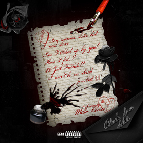Black Love Letter Mello Oowee front cover