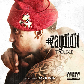 #ZayDidIt Trouble front cover