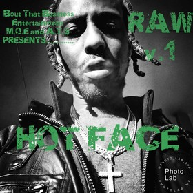 RAW (volume 1) HOT FACE front cover