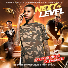 Next Level 4 (Hosted By Trouble & Money Mu) DJ Phase 3 front cover