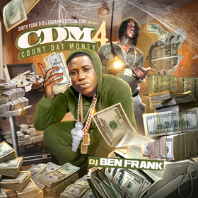 Count Dat Money 4 DJ Ben Frank front cover