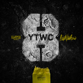 Yellow Tape & White Chalk 8 Lightshow front cover