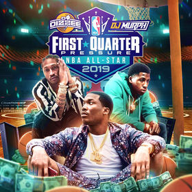 First Quarter Pressure (NBA All Star Edition) DJ Dizzee front cover