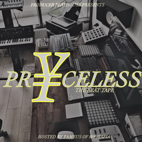 Pryceless (The Beat Tape) Pryceless Productions front cover