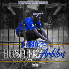 LitBoyBino - HustlerzAmbition CHILL iGRIND WILL front cover