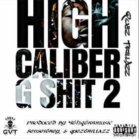 High Caliber G Shit 2 Quez TrillAzz front cover