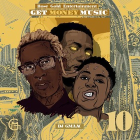 Get Money Music 10 DJ GMAAC front cover