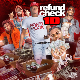 Refund Check 10 DJ Money Mook front cover