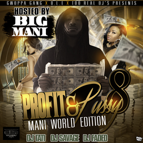 Profit & Pussy 8 DJ Faded front cover