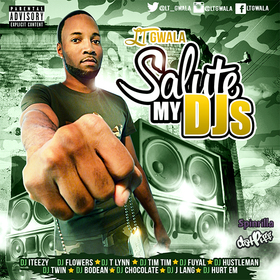 Salute My DJs LT Gwala front cover