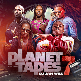 Planet Of The Tapes 7 DJ Jah Will front cover