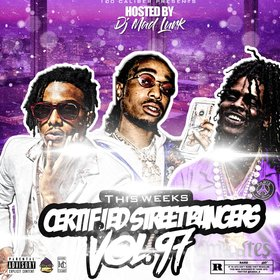 This Weeks Certified Street Bangers Vol.97 DJ Mad Lurk front cover