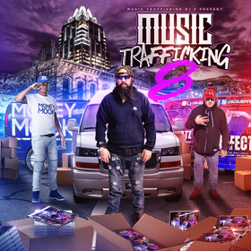 Music Trafficking 8 DJ Money Mook front cover