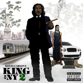 King of NY 2 - EP Donny Carson front cover