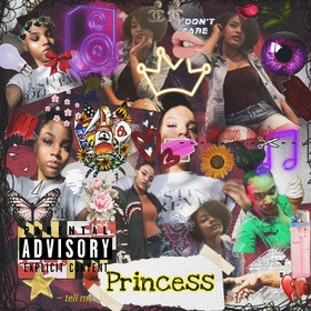 Princess of the DMV Royal Tee front cover