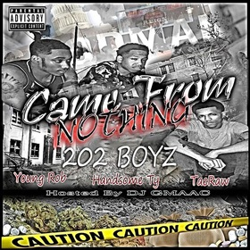 Came From Nothing 202 Boys front cover