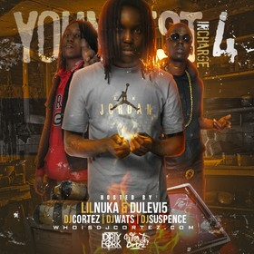 Youngest In Charge 4 DJ Cortez front cover