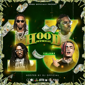 Hood Official Vol. 13 DJ Official front cover