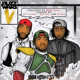 Buzz Wars 5 DJ 864 front cover