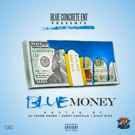 Blue Money DJ Young Shawn front cover