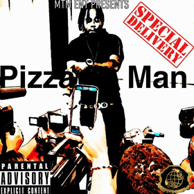 Special Delivery Da Pizza Man front cover