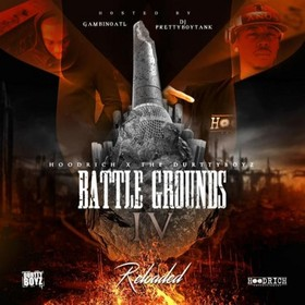 Battle Ground: The Mixtape 4 DJ Pretty Boy Tank front cover