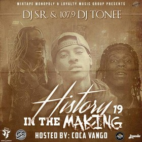 History In The Making 19 DJ S.R. front cover