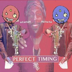 PERFECT TIMING MASON BINION front cover