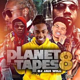 Planet Of The Tapes 8 DJ Jah Will front cover