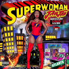 Superwoman Jah Jah front cover