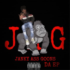 """Janky Ass Goons """"Da E.P"""" BSR Tay front cover"""