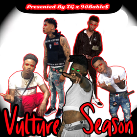 Vulture Season (EP) TyyBoomin front cover