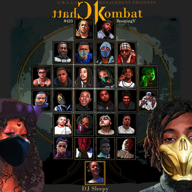 Chatt Kombat #423BoomingV Dj Sleepy  front cover