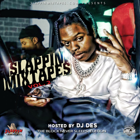 Slappin Mixtapes Vol.2 Hosted by DJ DES - The Block Never Sleeps Edition 42 Dugg front cover