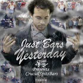 CrucialSpitsBars - Just Bars Yesterday PSBK front cover