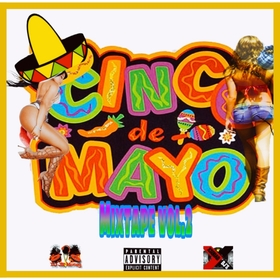 CINCO DE MAYO MIXTAPE VOL.2 Various Artists front cover