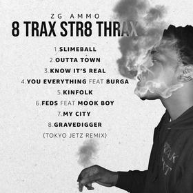 8 Trax Str8 Thrax ZG Ammo  front cover