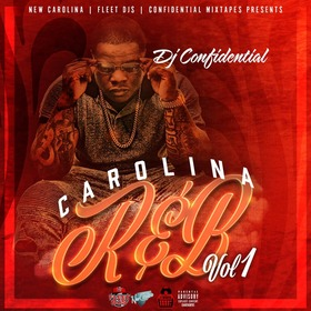 CAROLINA R&B, VOL.1 Dj Confidential front cover