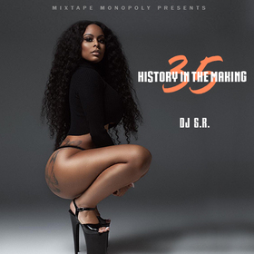 History In The Making 35 DJ S.R. front cover