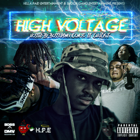 HIGH VOLTAGE SHOCK GANG front cover