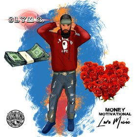 Money Motivational Love Music Slym B. front cover