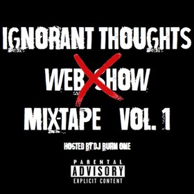 Ignorant Thoughts Vol. 1 DJ Burn One front cover