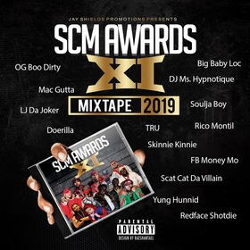 SCM AWARDS XI MIXTAPE Various Artists front cover