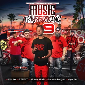 Music Trafficking 9 DJ Money Mook front cover